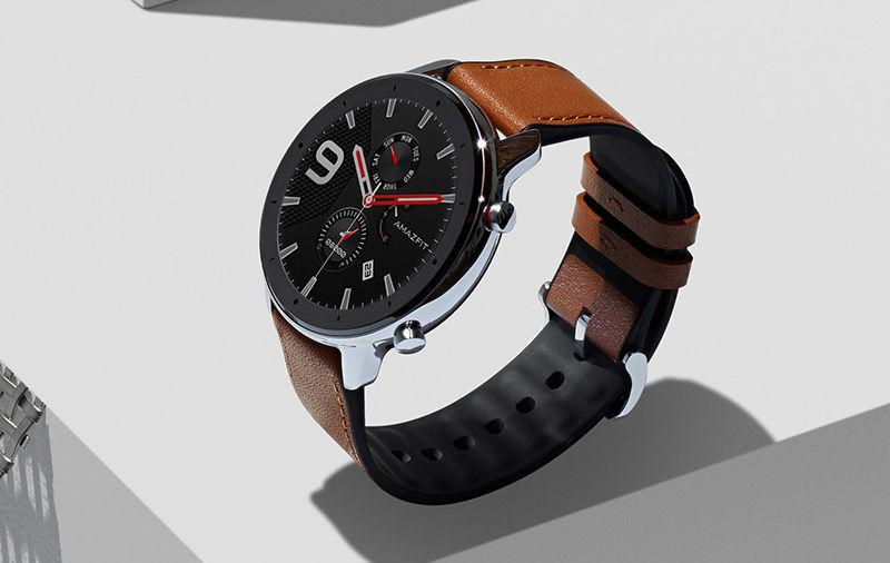 ساعة ذكية من Amazfit GTR مزودة بنظام GPS مدمج وعمر بطارية مدته 24 يومًا تم إطلاقها مقابل 10،999 روبية 1
