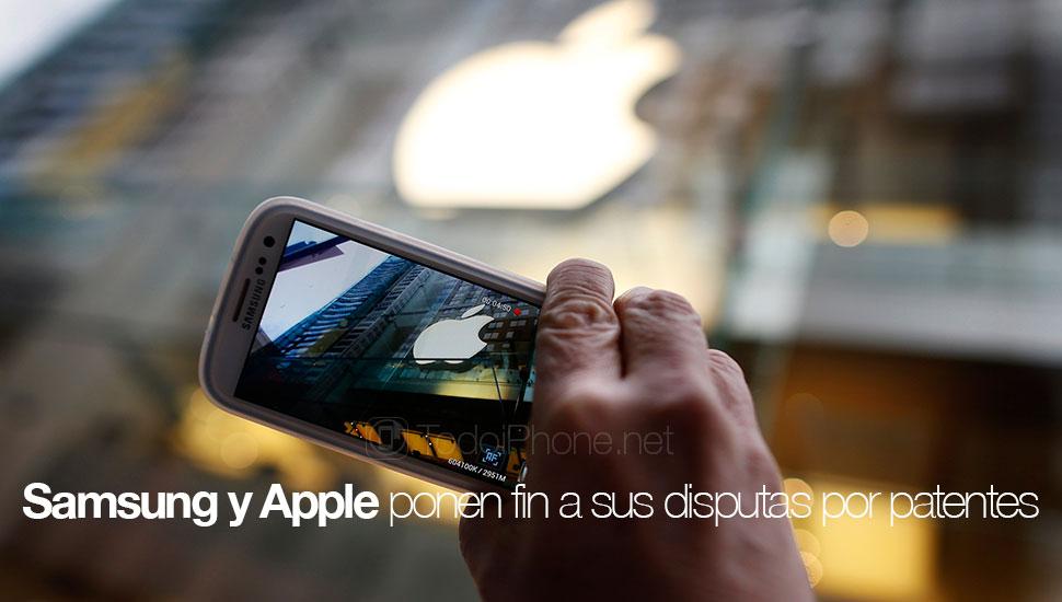 سامسونج و Apple إنهاء حرب براءات الاختراع خارج الولايات المتحدة 1