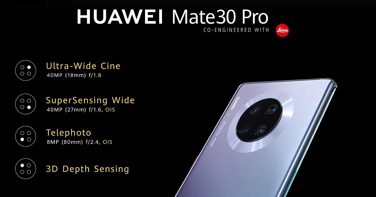 "Huawei Mate 30 Pro رباعية الكاميرا الخلفية Leica ""width ="" 1200 ""height ="" 630 ""srcset ="" https://assets.mspimages.in/wp-content/uploads/2019/09/Huawei-Mate-30-Pro- Quad-Rear-Camera-Leica.jpg 1200 واط ، https://assets.mspimages.in/wp-content/uploads/2019/09/Huawei-Mate-30-Pro-Quad-Rear-Camera-Rear-Camera-Leica-300x158.jpg 300w ، https://assets.mspimages.in/wp-content/uploads/2019/09/Huawei-Mate-30-Pro-Quad-Rear-Camera-Leica-768x403.jpg 768w ، https: //assets.mspimages .in / wp-content / uploads / 2019/09 / Huawei-Mate-30-Pro-Quad-Rear-Camera-Leica-1024x538.jpg 1024w ، https://assets.mspimages.in/wp-content/uploads/ 2019/09 / Huawei-Mate-30-Pro-Quad-Camera-Camera-Leica-696x365.jpg 696w ، https://assets.mspimages.in/wp-content/uploads/2019/09/Huawei-Mate-30 -Pro-Quad-Rear-Camera-Leica-1068x561.jpg 1068w ، https://assets.mspimages.in/wp-content/uploads/2019/09/Huawei-Mate-30-Pro-Quad-Rear-Camera- Leica-800x420.jpg 800w ، https://assets.mspimages.in/wp-content/uploads/2019/09/Huawei-Mate-30-Pro-Quad-Rear-Camera-Leica-50x26.jpg 50w ""sizes = ""(م فأس العرض: 1200px) 100vw ، 1200px"
