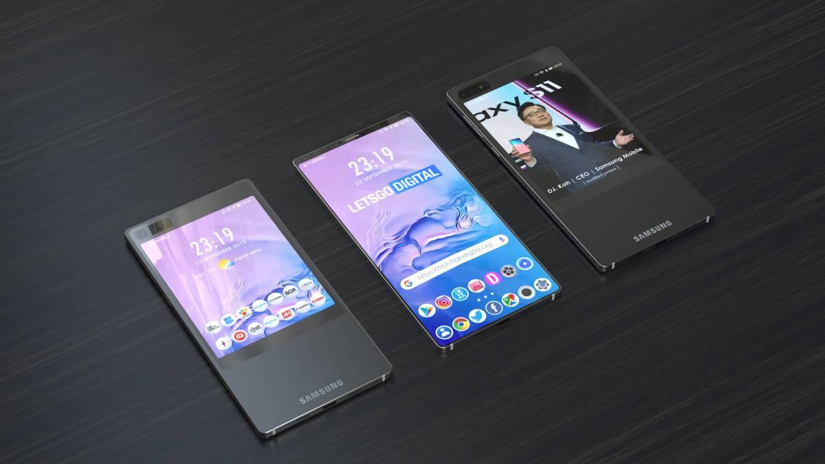 شائعات سامسونج الأولى Galaxy S11: شاشة مزدوجة 1