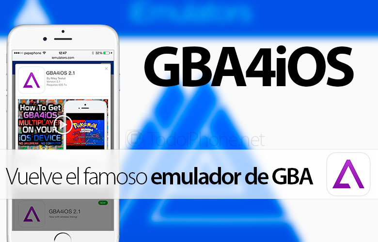 عاد GBA4iOS ، محاكي GBA لأجهزة iPhone و iPad 1