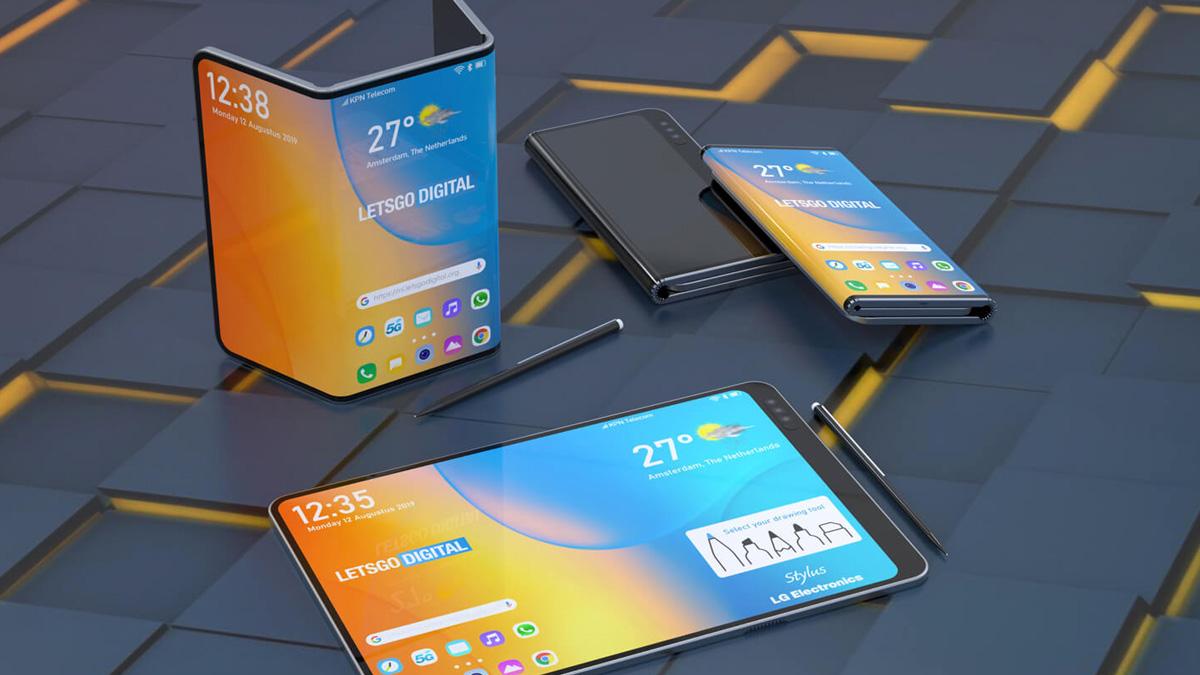 قد تعلن LG عن هاتفها الذكي القابل للطي المزدوج مع قلم قلم في IFA 2019 1