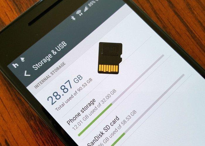 قم بتغيير وحدة التخزين الداخلية إلى بطاقة Samsung SD بسيطة 1