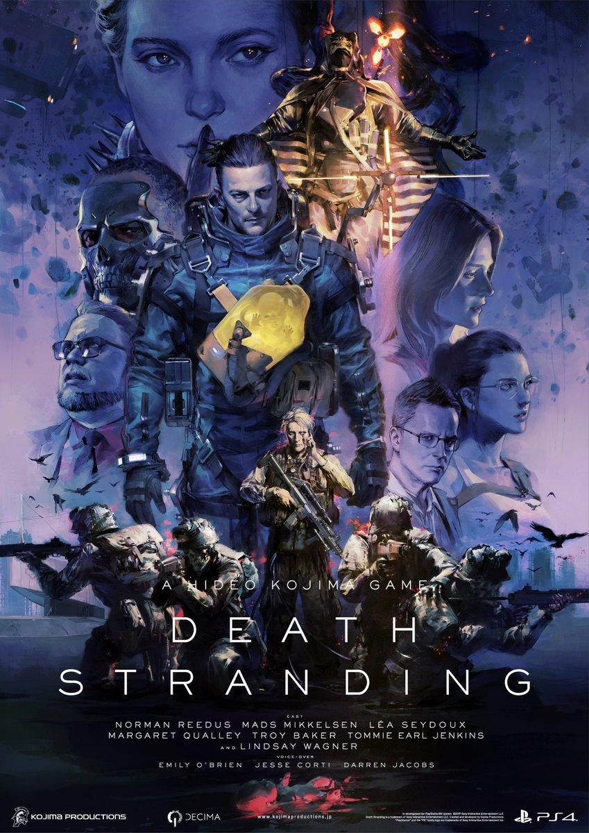 كشفت شركة Kojima Productions عن معاينة للمعاينة التالية لـ Death Stranding 1