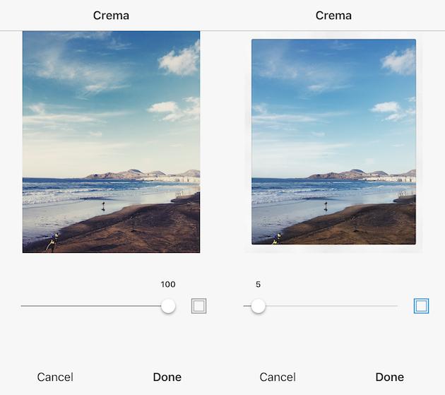 كيفية إضافة حد أبيض لصورة مع Instagram