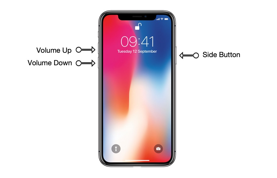 Force Restart iPhone 11 Pro