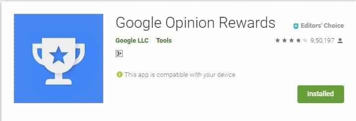 جوجل رأي المكافآت