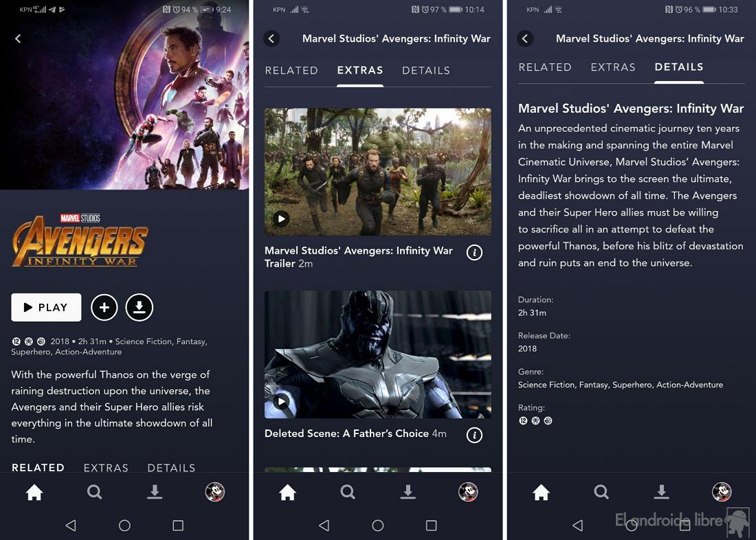 لقد اختبرنا Disney + على نظام Android: هذه خدمة البث المباشر من Disney 1