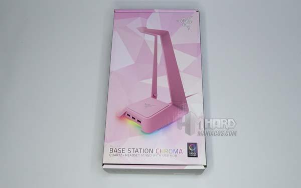 الحالة الأمامية Razer Base Station Chroma Quartz Edition