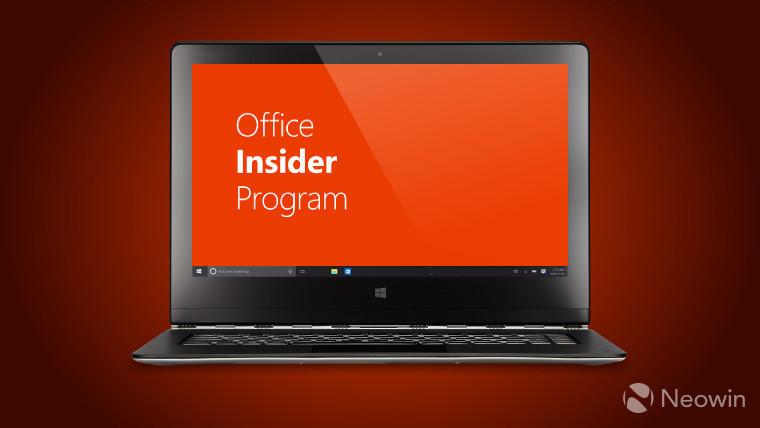 حلقة بطيئة مكتب المطلعين على Windows الحصول على اثنين من الميزات الجديدة 1