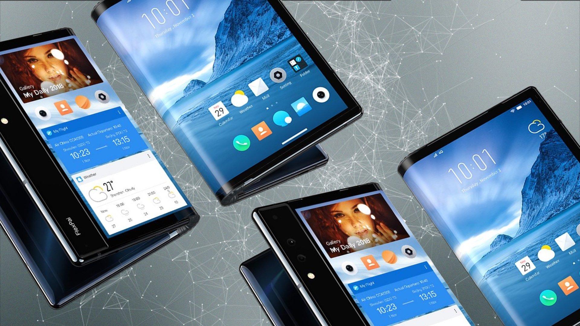 من الشائعات إلى الواقع: جميع الهواتف القابلة للطي تأتي في 2019 1