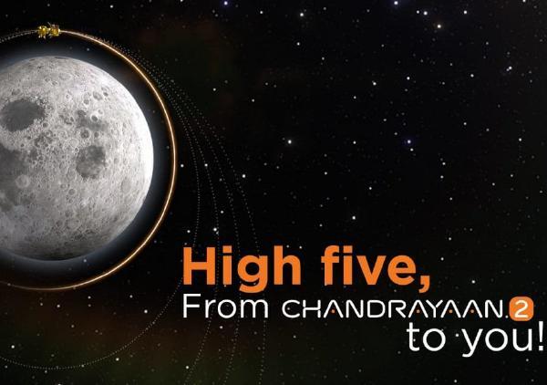 Chandrayaan 2 كل مجموعة على الهبوط على سطح القمر في بضع ساعات