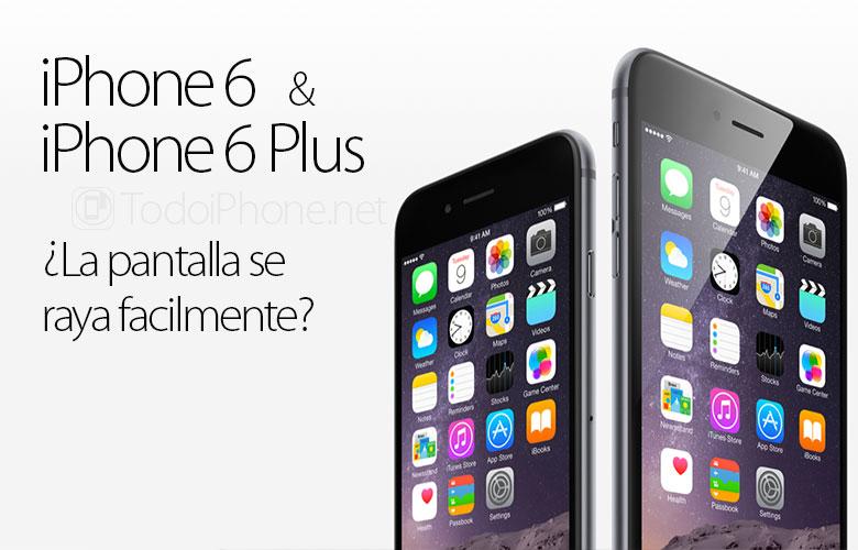 هل تميل شاشة iPhone 6 و iPhone 6 Plus إلى الخدش بسهولة؟ 1