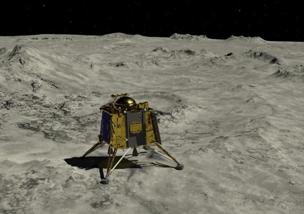 شاندريان 2 وقت الهبوط على سطح القمر: التفاصيل هنا