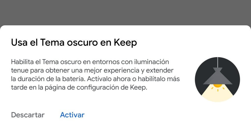 يتم تحديث Google Keep بتمكين الوضع المظلم لجميع مستخدمي Android 2