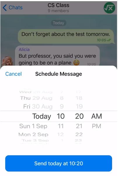 يجلب تحديث Telegram v5.11 الرسائل المجدولة وموضوعات السحابة المخصصة وخيارات الرسائل المكثفة وإعدادات الخصوصية الجديدة 1