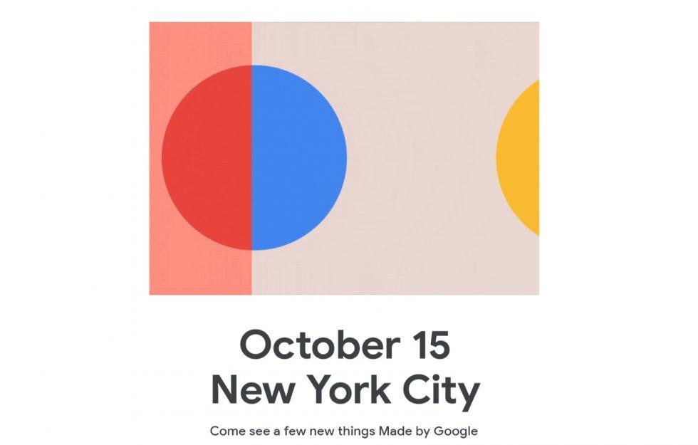 يحدث حدث Google Pixel 4 & Hardware في 10/15 في مدينة نيويورك 1