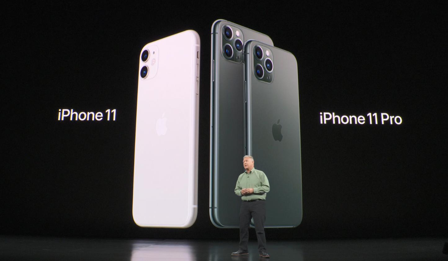 في المجموع ، Apple أطلقت ثلاثة فون جديدة. تم انتقاد الهواتف المحمولة على اليمين - iPhone 11 Pro و 11 Pro Max - لإثارة الناس خوفًا من الثقوب الصغيرة