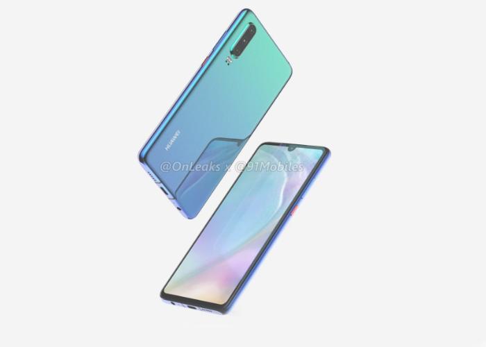 يمكن أن يشتمل Huawei P30 و P30 Pro التالي على قارئ بصمات الأصابع على الشاشة 2