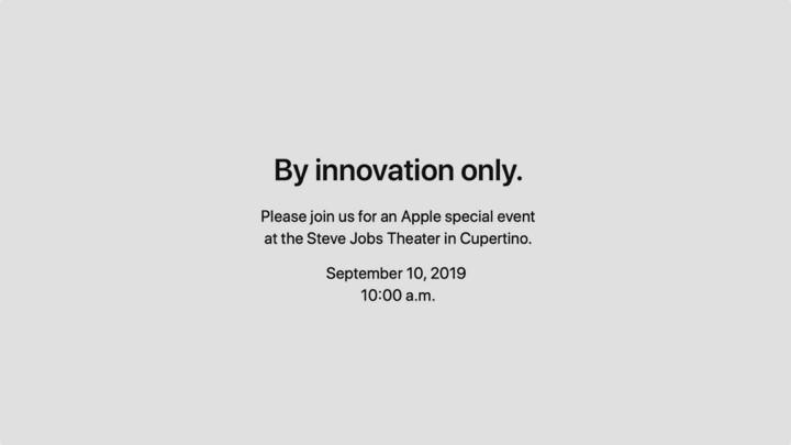 وأخيرا: Apple الدورات في آخر حدث لها في 10 سبتمبر