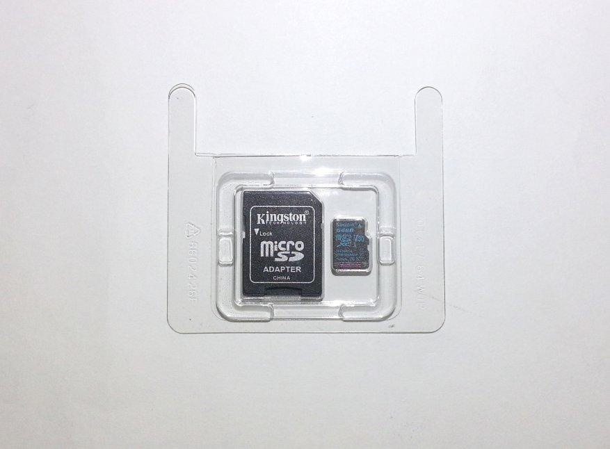 بطاقة ذاكرة Kingston Canvas Go microSDXC microSDXC بسعة 64 جيجا بايت (U3 / V30) 4