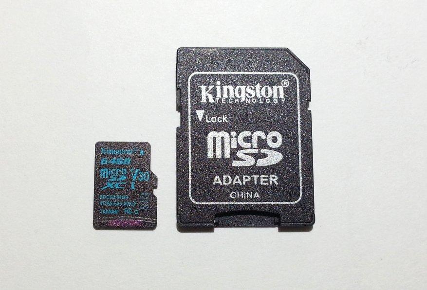 بطاقة ذاكرة Kingston Canvas Go microSDXC microSDXC بسعة 64 جيجا بايت (U3 / V30) 5