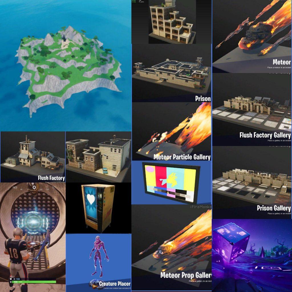 Fortnite تشير التسريبات الإبداعية إلى ألواح جاهزة جديدة - Flush Factory، Prison، and more 1