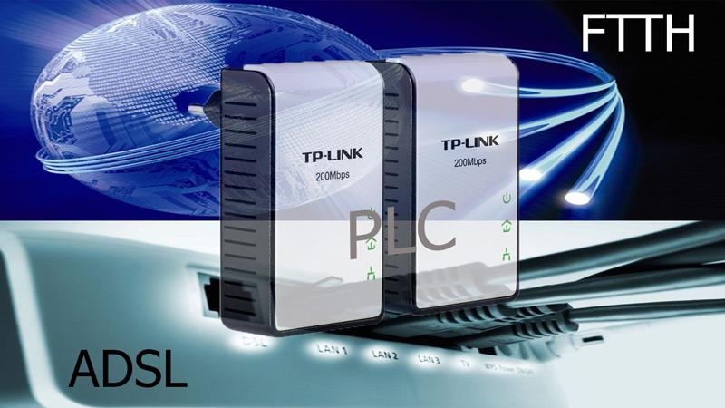 هل PLC حقًا بديل موثوق لـ ADSL أو FTTH؟