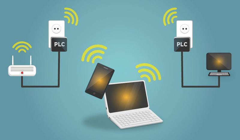 قم بتثبيت شبكة Power Line في منزلك