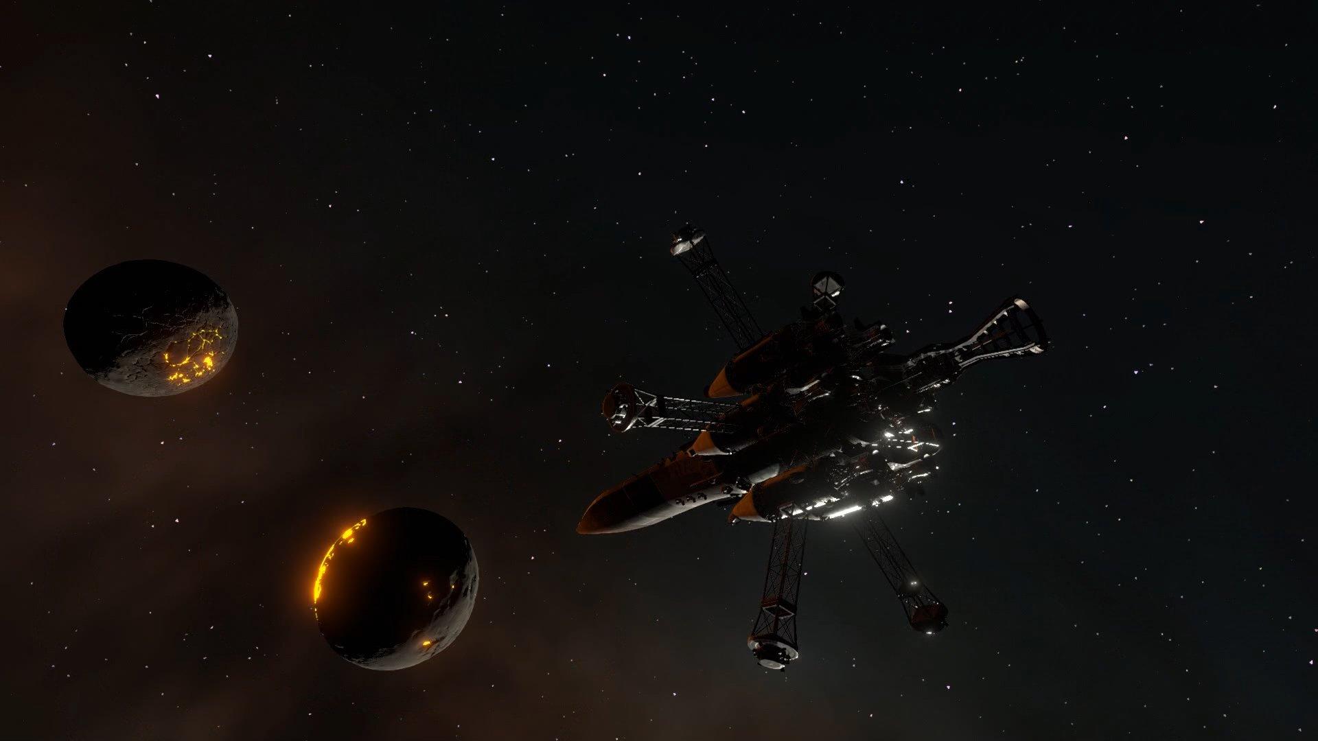 برنامج الفضاء Kerbal 2 - PAX الغربية