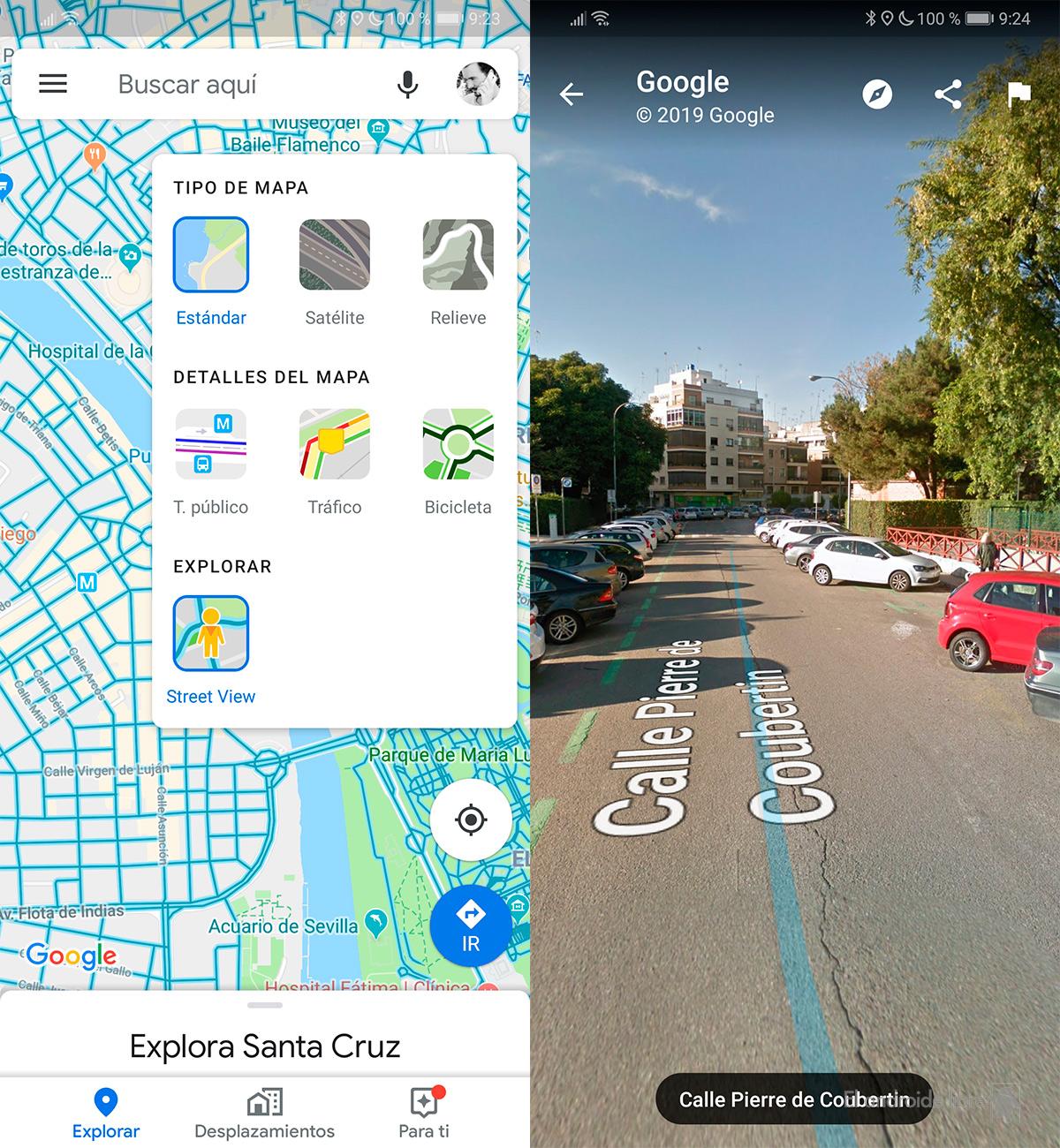 تضيف خرائط Google طبقة جديدة مع ميزة التجوّل الافتراضي إلى الواجهة 1