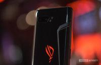 Asus ROG Phone 2 الخلفية ROG شعار تنفيس والكاميرا