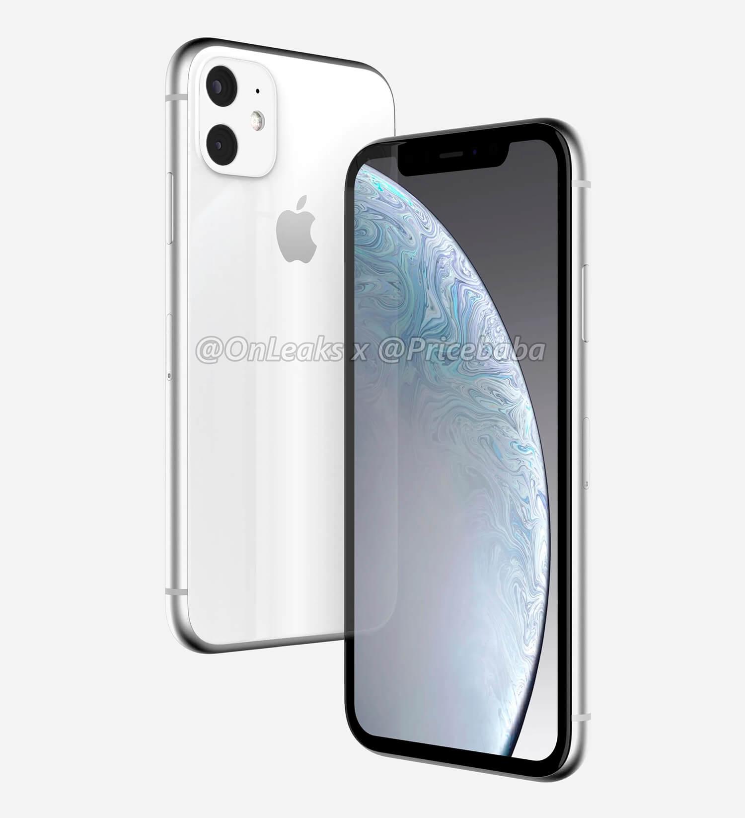 فون XR 2019 الأبيض