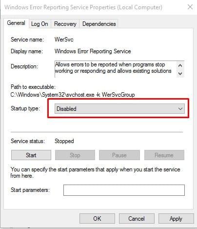 """عن طريق Windows الخدمات """"width ="""" 404 """"height ="""" 469 """"srcset ="""" https://applexgen.com/ar/wp-content/uploads/2019/09/1567489251_66_كيفية-تعطيل-الإبلاغ-عن-خطأ-في-Windows-10.jpg 404w ، https://techviral.net/wp-content/uploads/2016/07/Windows-error-reporting-4-258x300.jpg 258w ، https://techviral.net/wp-content/uploads/2016/07/Windows-error-reporting-4-362x420.jpg 362w """"data-lazy-sizes ="""" (أقصى عرض: 404 بكسل) 100 فولت ، 404 بكسل"""