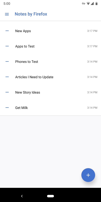 كيفية استخدام التطبيق الآمن لـ Firefox 'Notes' لمزامنة القوائم وغيرها من الملاحظات على متصفح سطح المكتب