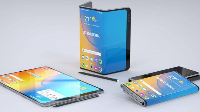 قد تعلن LG عن هاتفها الذكي القابل للطي المزدوج مع قلم قلم في IFA 2019 3