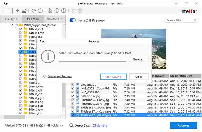 Windows  استعادة البيانات