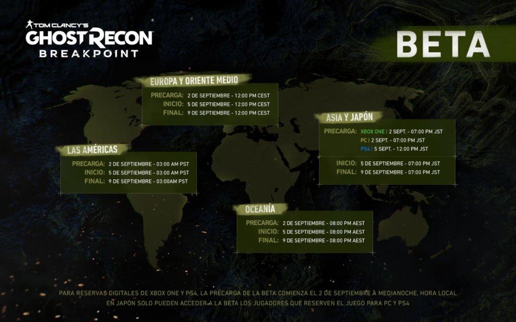 ستبدأ النسخة التجريبية المغلقة من Ghost Recon Breakpoint هذا الأسبوع ويمكن تنزيلها الآن 1