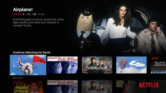 الجنرال الرابع Apple TV Netflix القائمة الرئيسية