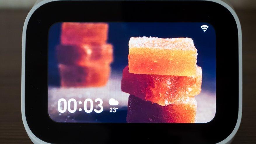 Xiaomi شياو منظمة العفو الدولية تعمل باللمس: شاشة اللمس الذكية المتكلم 18