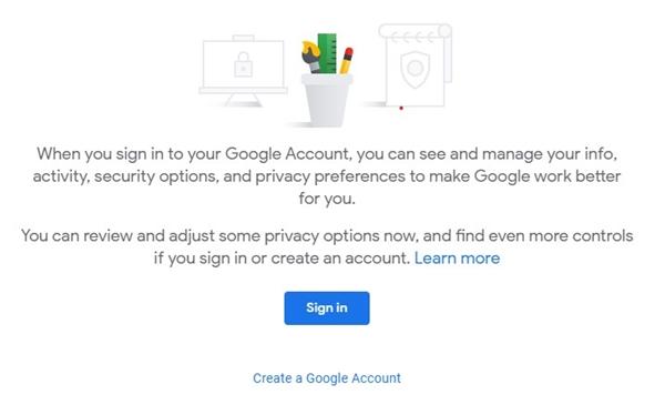 تسجيل الدخول حساب جوجل