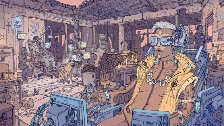 يعرض Cyberpunk 2077 التصميم النهائي لأحد كتب الصلب الخاصة به 3