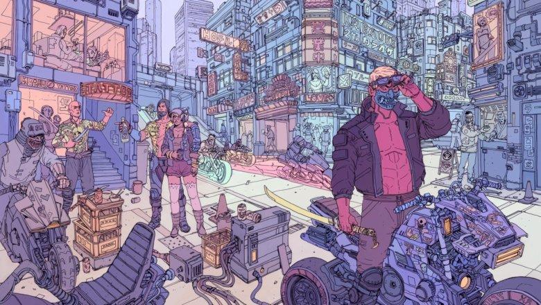 يعرض Cyberpunk 2077 التصميم النهائي لأحد كتب الصلب الخاصة به 4