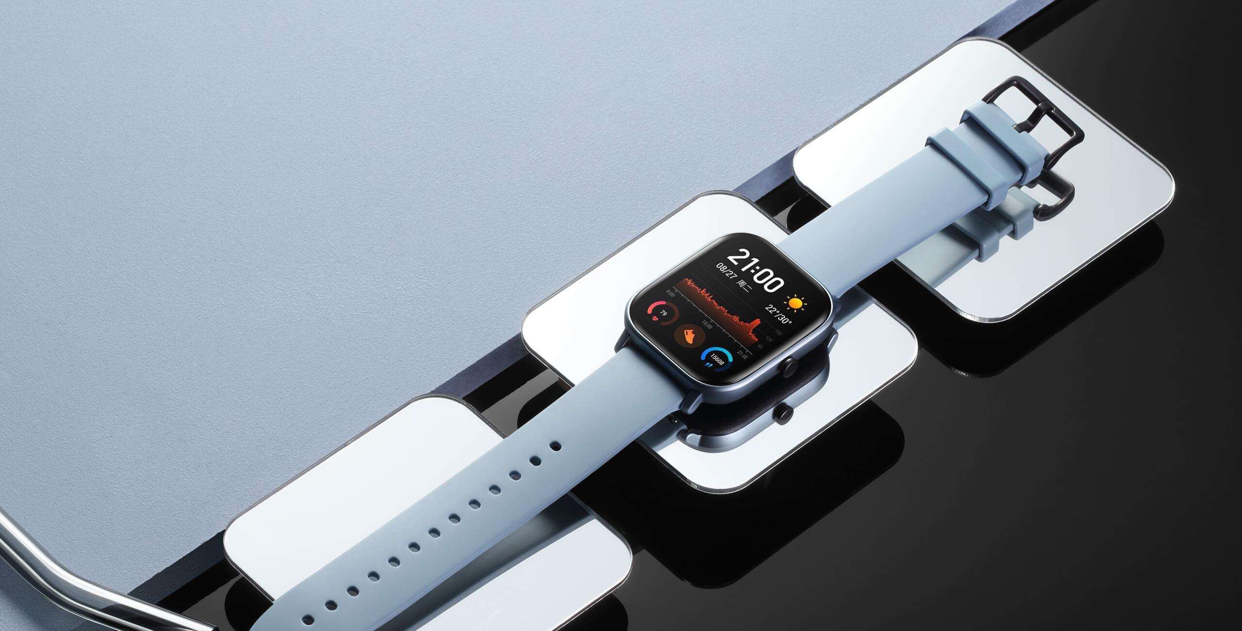 هوامي Amazfit GTS Smartwatch مراجعة ، السعر والمواصفات 2
