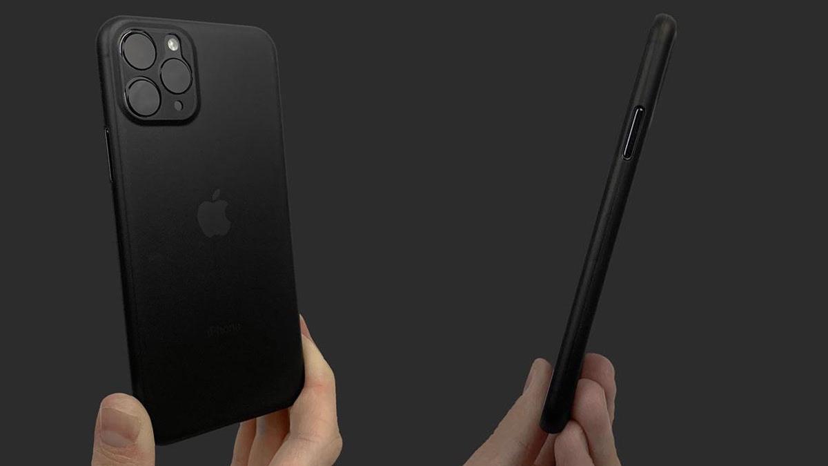 تُظهر الصور المتسربة من الشركة المُصنّعة للحالة تصميمًا أنيقًا لمجموعة iPhone 11 2