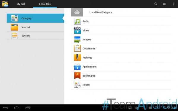 تطبيقات Huawei MediaPad 10 FHD لأي قرص Android 2