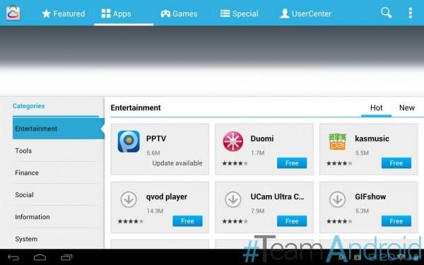 تطبيقات Huawei MediaPad 10 FHD لأي قرص Android 4