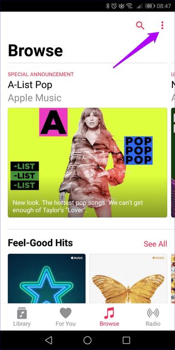 Apple  الموسيقى لا تنزيل الأغاني Iphone Android 26