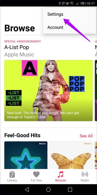 Apple  الموسيقى لا تنزيل الأغاني Iphone Android 27