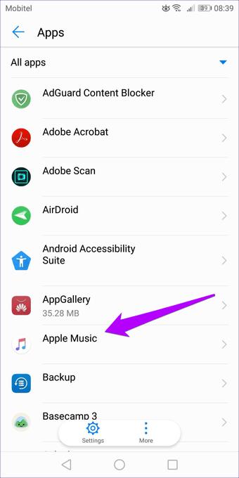 Apple  الموسيقى لا تنزيل الأغاني Iphone Android 32